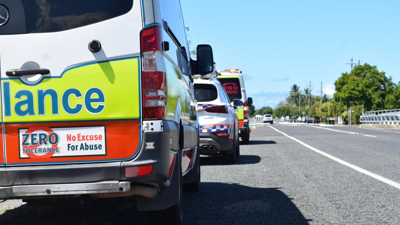 Emergency services are responding to two-vehicle crash near the Mackay Bucasia Road and Beaconsfield Road intersection in Beaconsfield. Photo: Zizi Averill