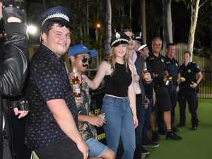 Students cop a lesson in responsible drinking