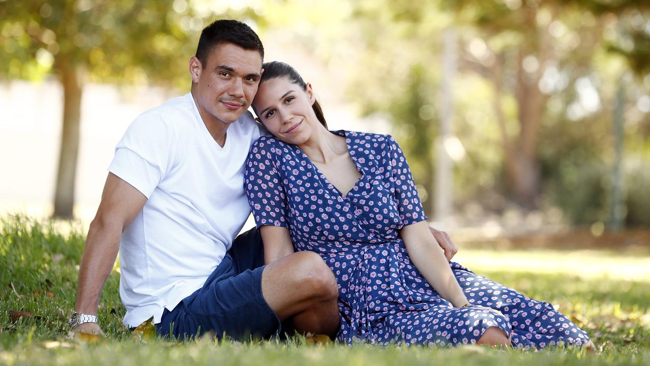 The biggest star in Aussie boxing speaks glowingly about the girlfriend who has been there from day one — but admits life is changing.