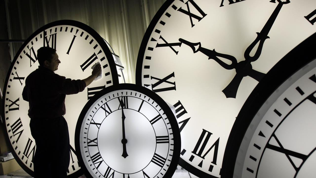 Daylight saving time ends early Sunday morning with clocks turned back one hour. Picture: AP Photo/Elise Amendola