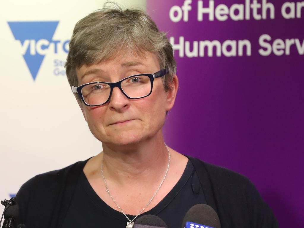 Victoria's deputy chief health officer Dr Angie Bone issued the warning following a record number of calls about mushroom poisoning incidents to Victoria's poisons information centre last year. Picture: Alex Coppel.