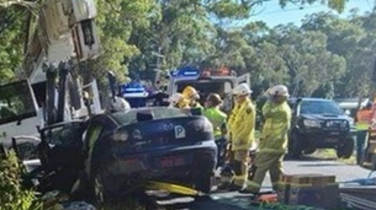 Police are appealing for any dashcam footage to do with a two-vehicle crash in the Sunshine Coast hinterland on Monday afternoon.