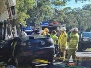 Coast crashes: Rollover, appeal for dashcam footage