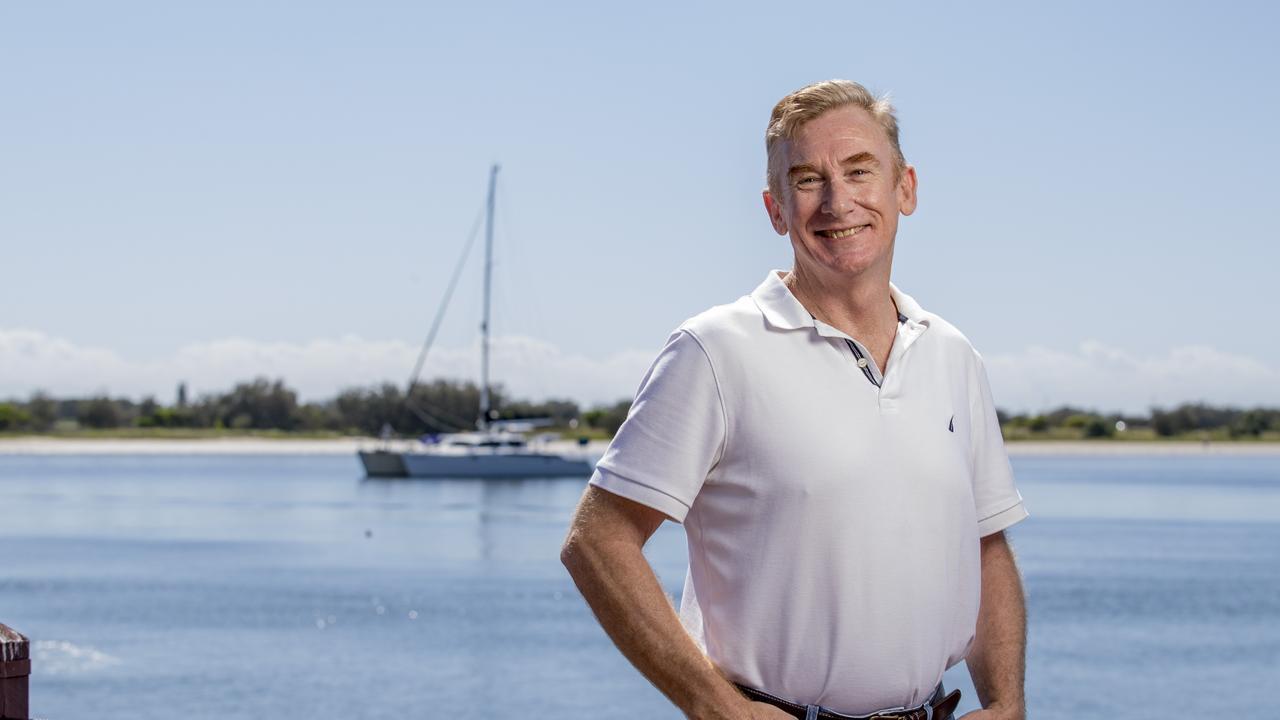 Gold Coast City Council's new CEO David Edwards. Picture: Jerad Williams.