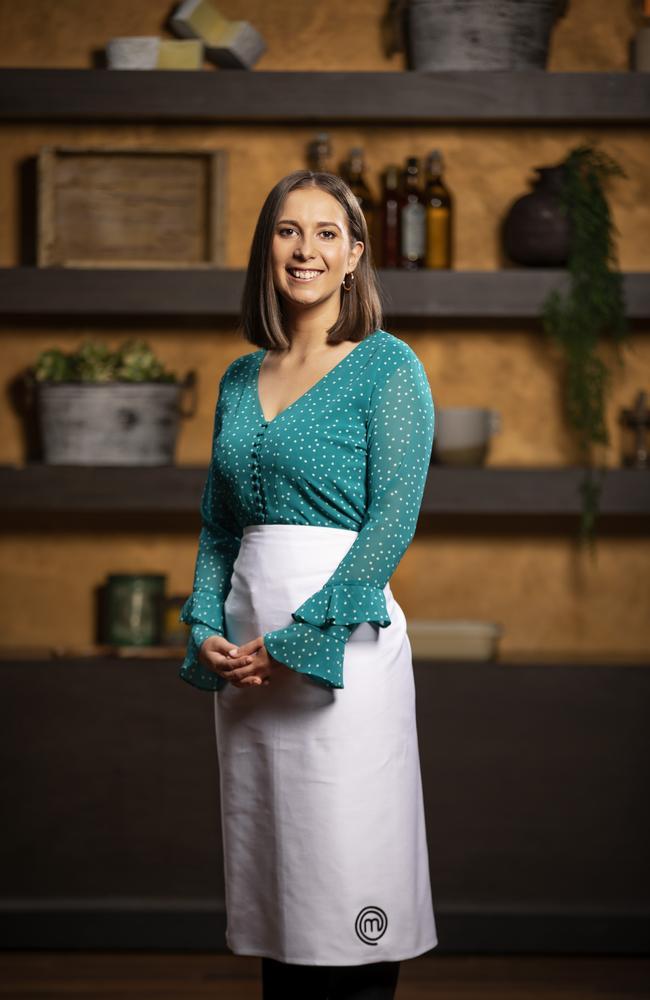 Laura Sharrad appeared on the last season of MasterChef: Back to Win. Picture: Channel 10
