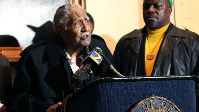 Reverend Joseph Lowery exhibited courage and strength in his fight for Civil Rights in the USA. Photo: Jaime Lee, CC BY-NC-SA 2.0