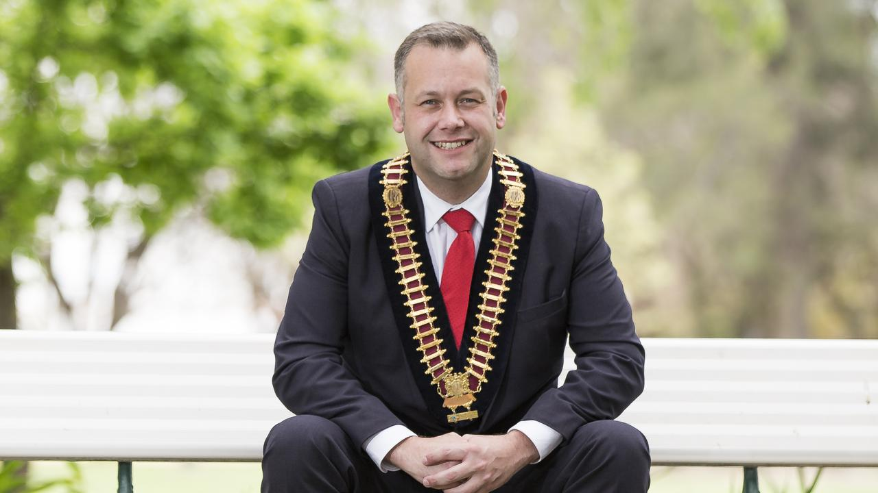Dubbo Regional Council Mayor Ben Shields in the city's Victoria Par. Picture: Dylan Robinson