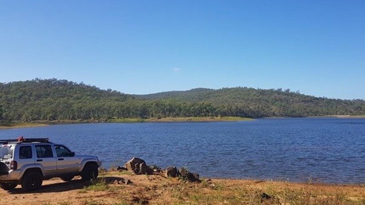 The Mount Morgan No. 7 Dam. Photo: Mark Spencer