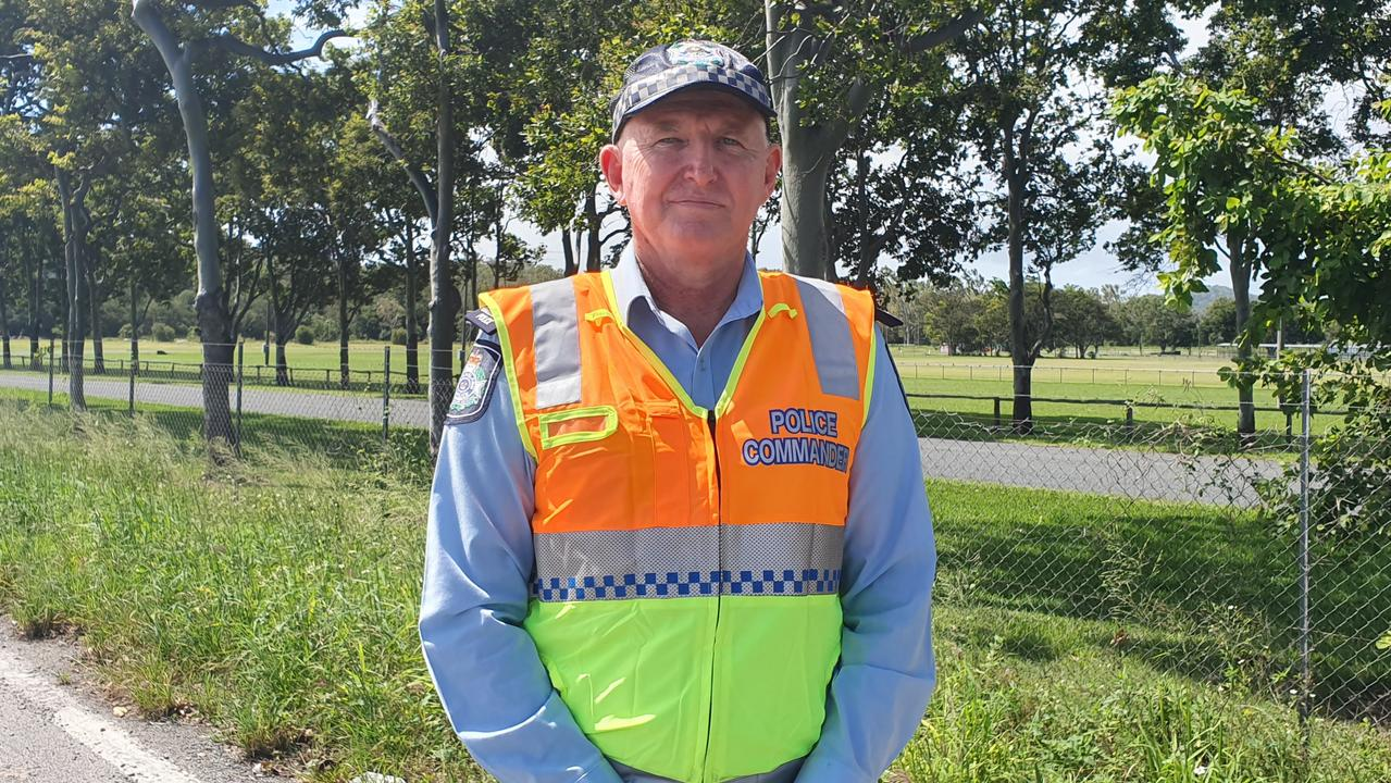 Mackay Police Inspector Ian Haughton said police would be focusing on driver impairment and driver fatigue this Easter long weekend. Picture: Lillian Watkins