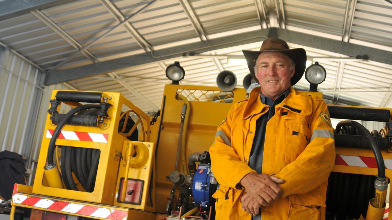 National Volunteer Week: Bruce MacKay, Rural Fire Brigade, Gladstone in 2011. Photo Chrissy Harris/The Observer