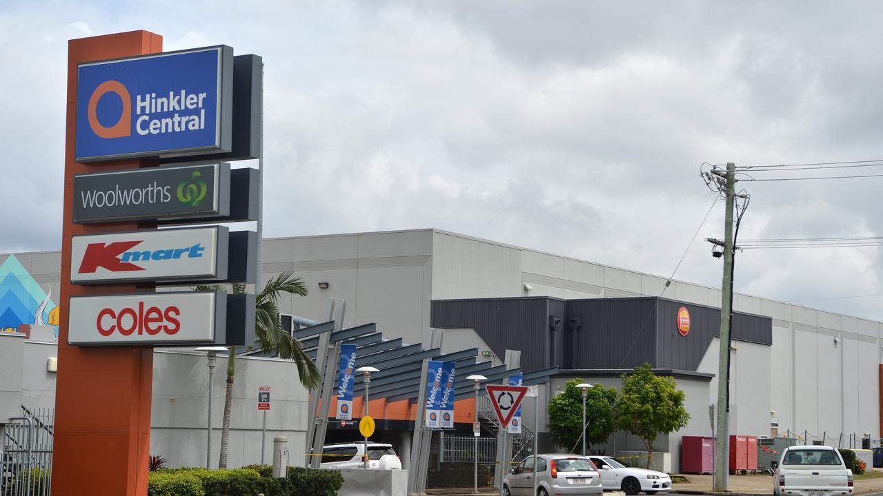 Hinkler Central shopping mall, Bundaberg.