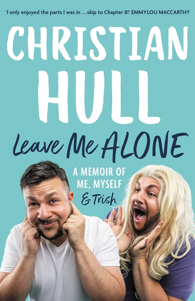 Leave Me Alone - Christian Hull cover, Allen and Unwin.