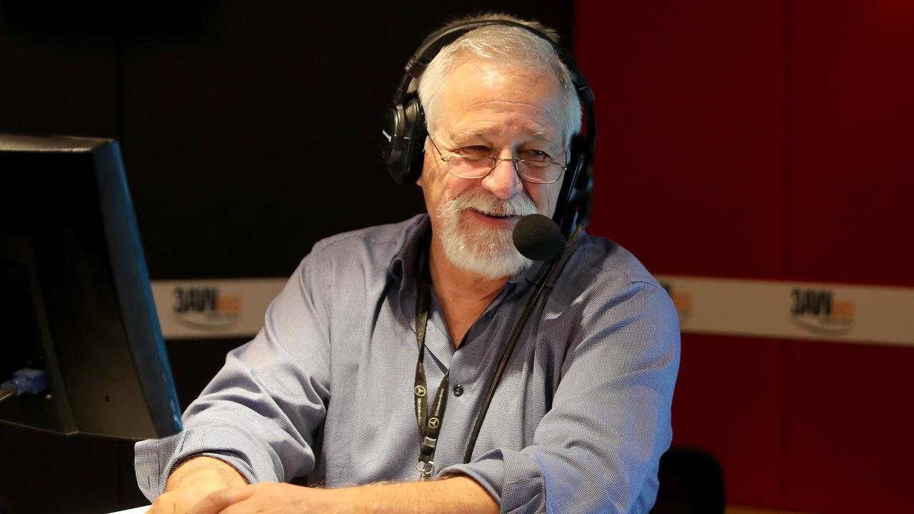 Neil Mitchell said he probably only has a year or two left in him as morning radio host. Picture: Stuart McEvoy