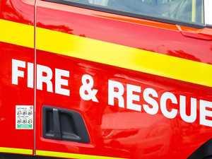 Fire crews rush to Coast Motorway fire