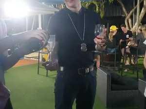 Mackay police teach CQUni how to Drink Rite