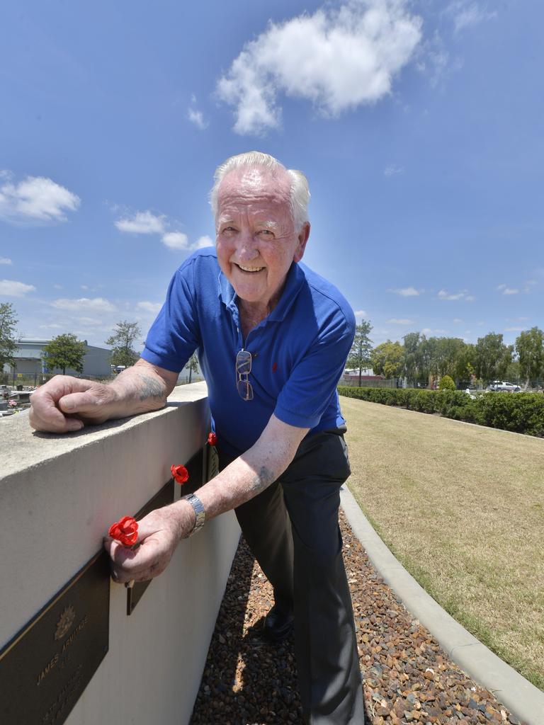 Matt Rennie has been identifying veterans in the Ipswich Cemetery for 15 years.