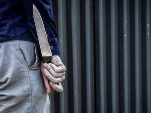 Man armed with knife, pillowcase on head near Proserpine pub