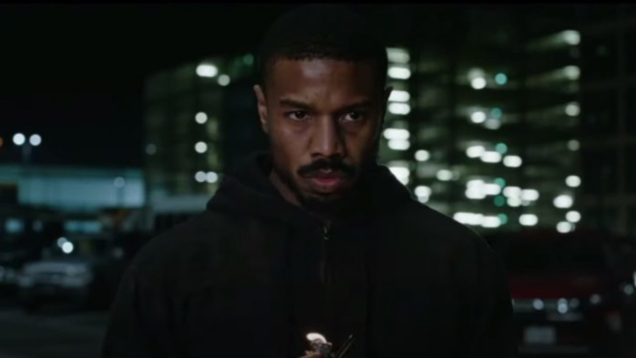Michael B. Jordan means business.