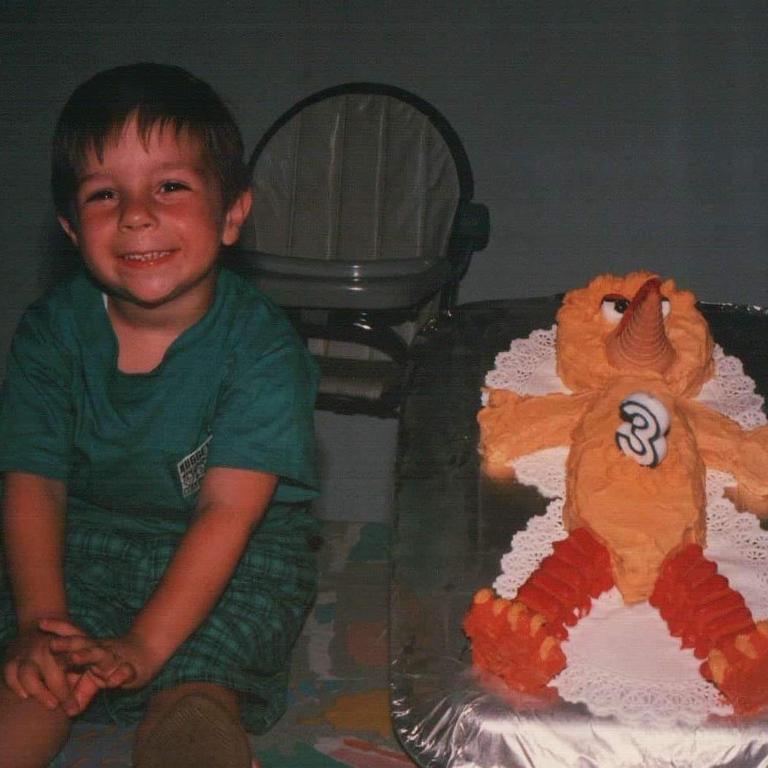 Christian Hull on this 3rd birthday.