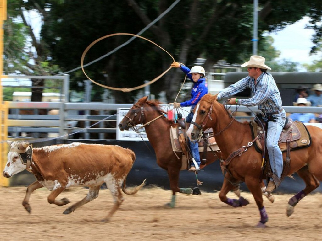 The Easter Sunflower Festival Rodeo will be held at the Emerald Showgrounds.