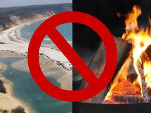 Fire bans 'slowly killing' family beach campsites, local says
