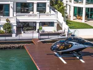 Home with waterfront helicopter pad sells for record sum