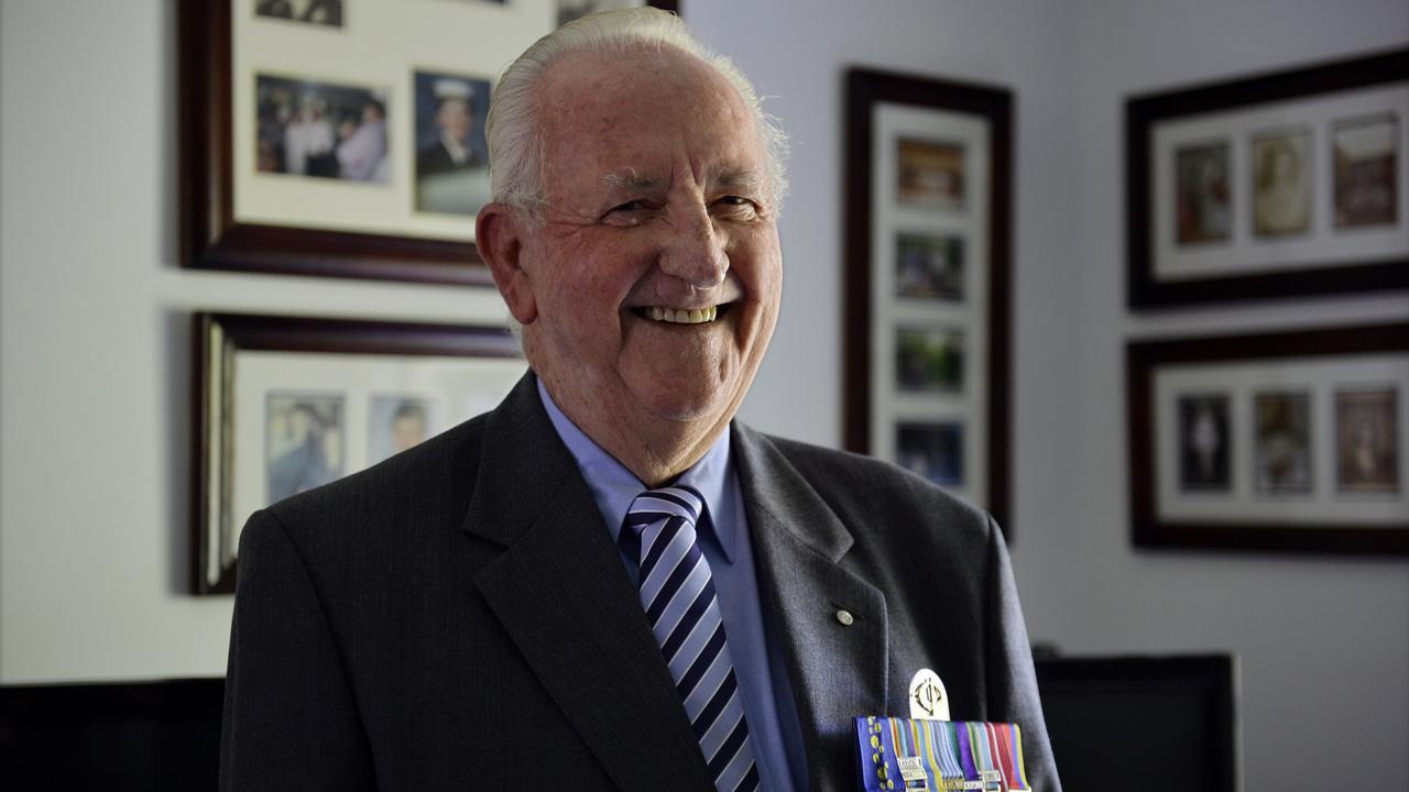 Decorated war veteran Matt Rennie.