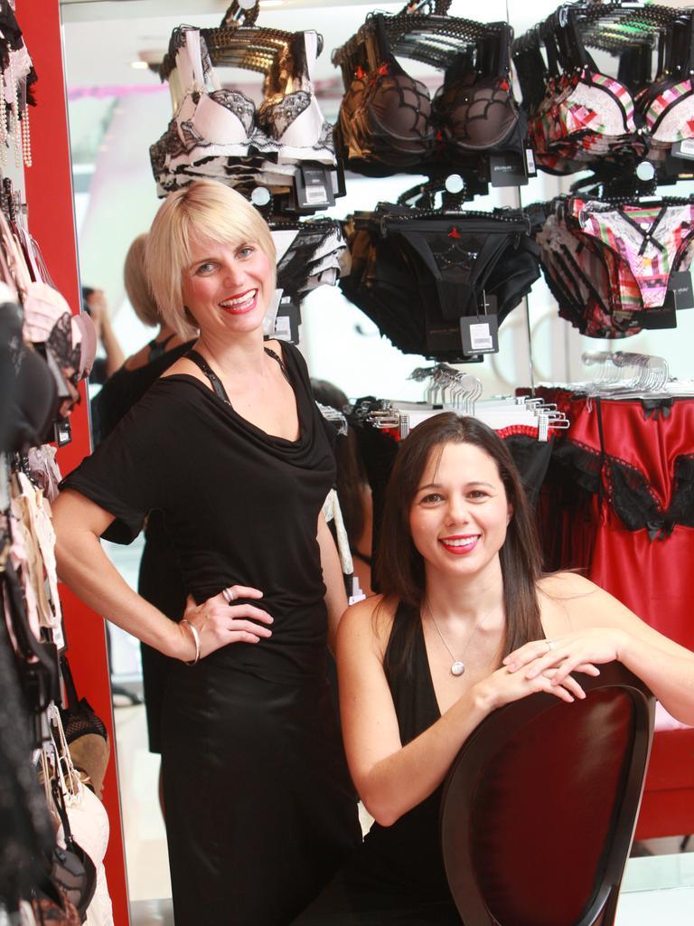Honey Birdette co-founders Eloise Monaghan (left) and Janelle Barboza