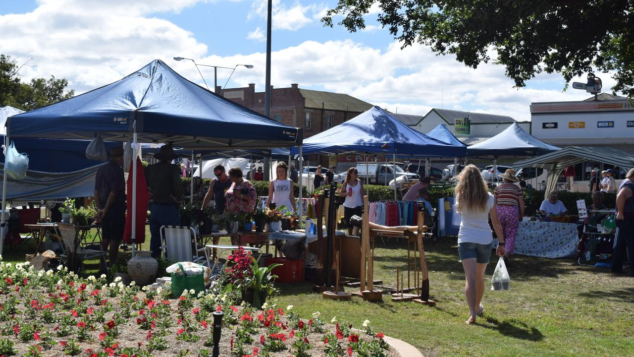 Leslie Park is sure to be a hive of activity this weekend at the Warwick Easter Markets.
