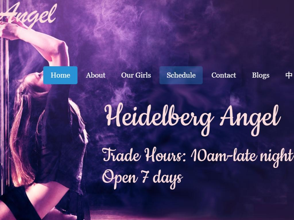 Three workers at the Heidelberg Angel brothel are accused of allowing a 16-year-old to work at the venue after she responded to an ad for an assistant dominatrix.