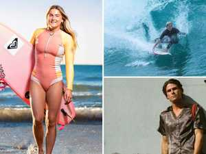 Stylish 10: Coast surfers carving up in water, on sand
