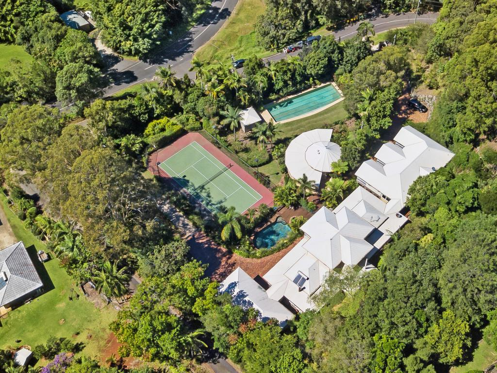 The eight-bedroom home at 1 Topview Drive, Mons
