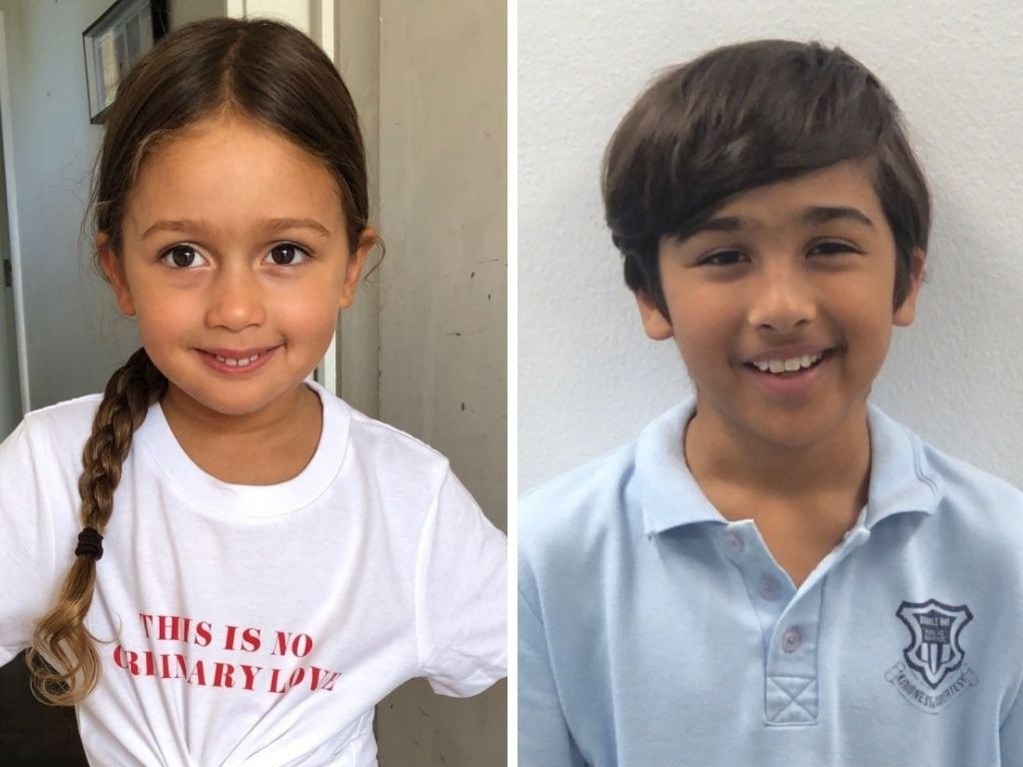 NSW Police have issued an amber alert for children Bowie Dowlut, 4, and Basten Dowlut, 10.