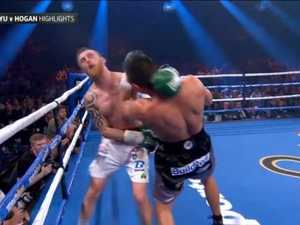 Tszyu FINISHES Hogan in Round 5!