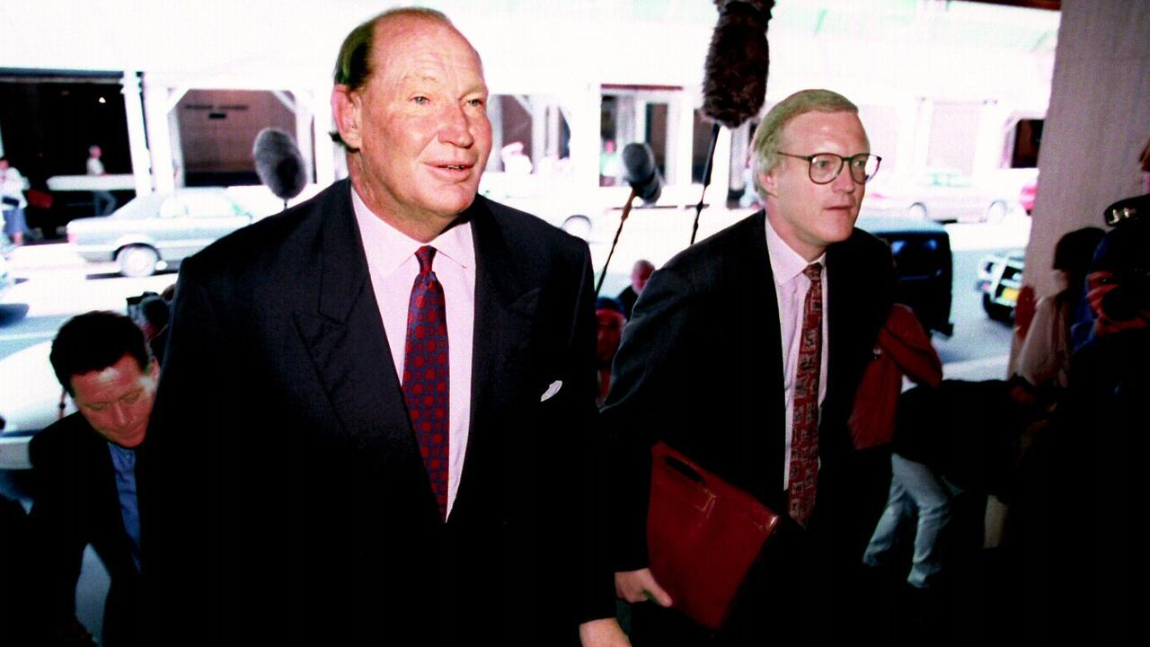 Kerry Packer threatened any club that thought of leaving the ARL.