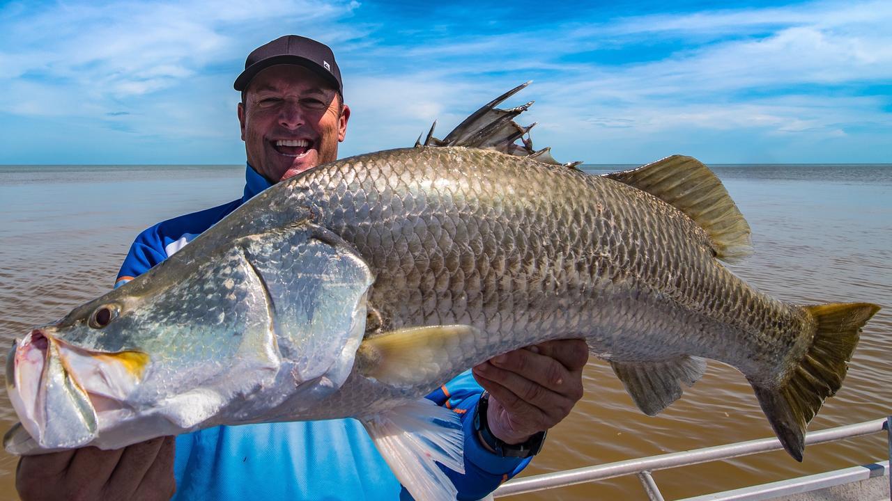 Fishing fanatic Scott Hillier.