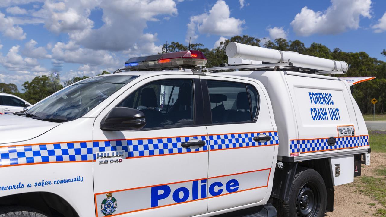 Queensland Police forensic crash unit. Photo: QPS