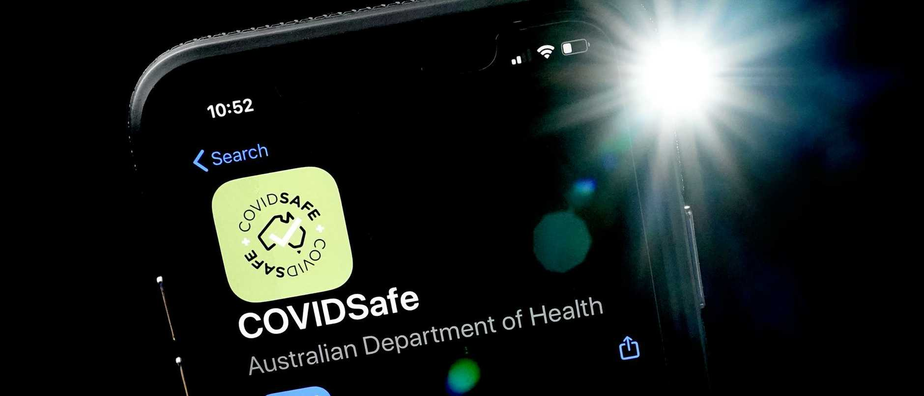 The Queensland Government has not used the Federal Government's $5.8m COVIDSafe app to help manage Queensland's latest virus clusters.