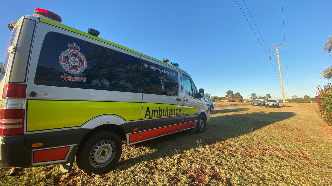 Paramedics were called to Devereaux Creek about 4.15pm with reports a man suffered spinal injuries in a a diving accident.