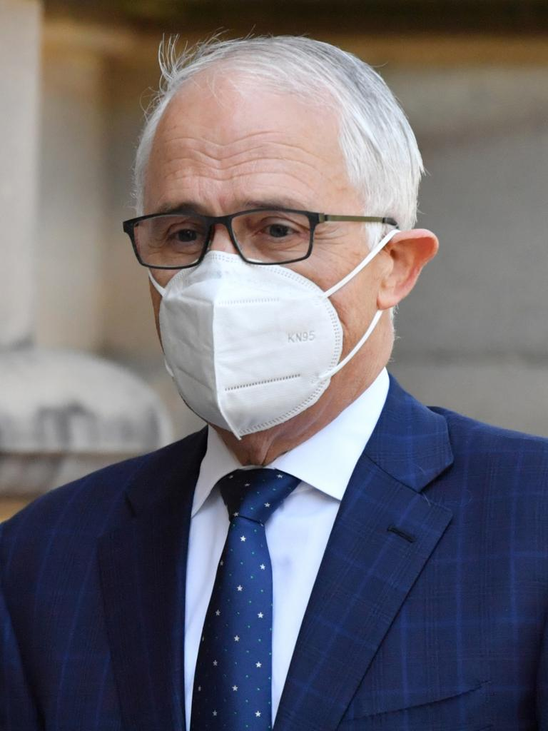 Former prime minister Malcolm Turnbull. Picture: Mick Tsikasvia