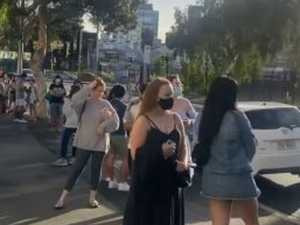 WATCH: Massive crowd lines up for pop-up bakery