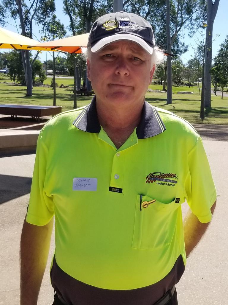 Evolution in Training driving instructor Leyland Barnett.