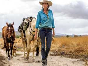 'Felt like I was dying': 5000km trek with horses and dog