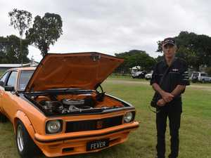 Andrew builds Torana from empty shell in time for Rockynats