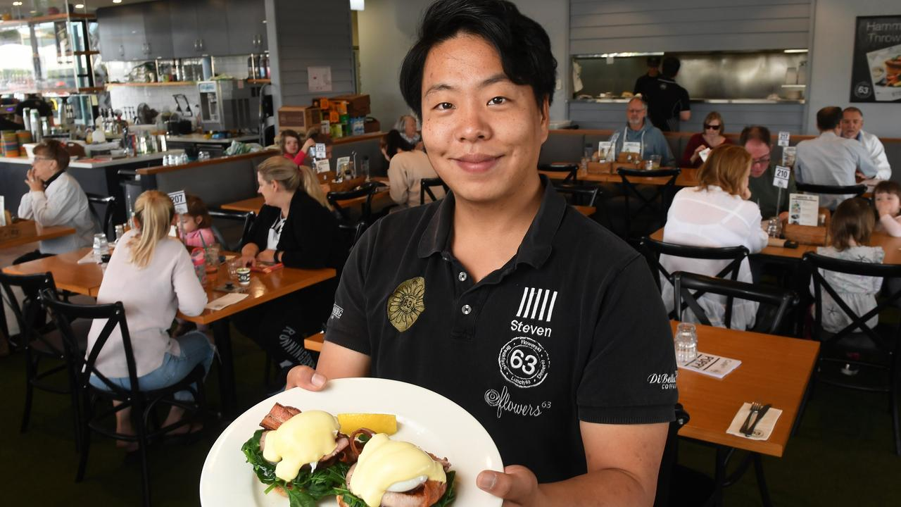 Cafe 63 Winston Glades manager Steven Chang . The eatery has been voted as Ipswich's best brunch spot.
