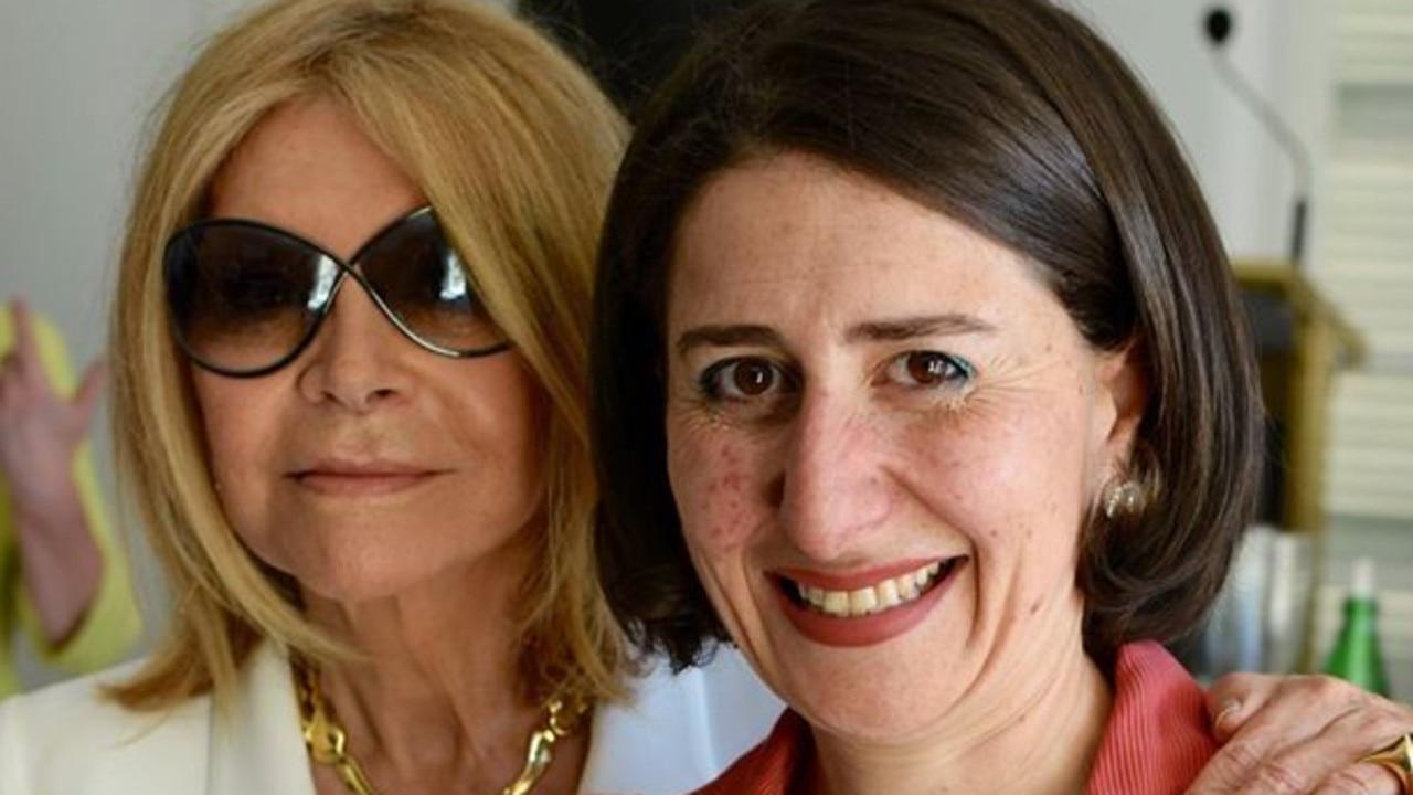 Gladys Berejiklian and Carla Zampatti.