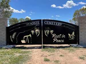 Graceful improvements added to Moonie Cemetery entrance