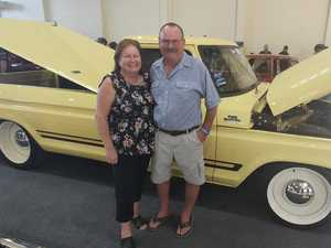 Ute bought to fund mate's funeral unveiled at Rockynats