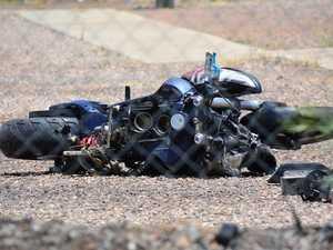 Motorcyclist hospitalised following Gladstone region crash