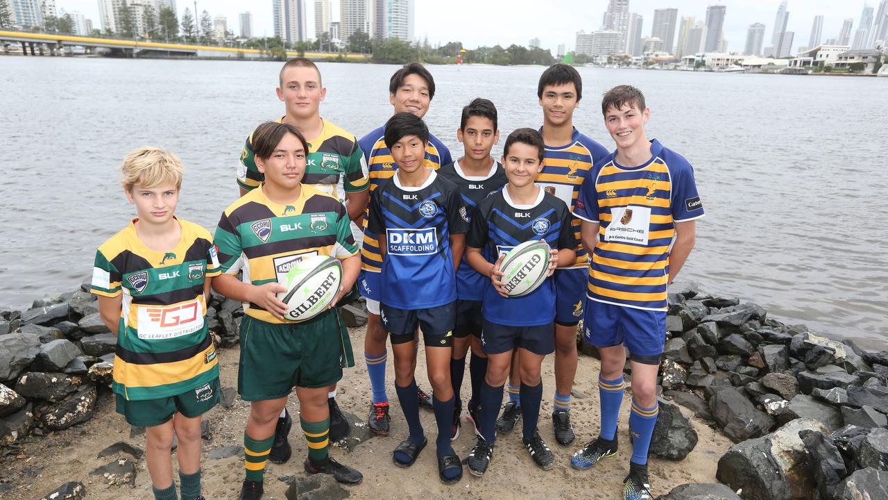 Gold Coast Eagles will host King of the Country rugby tournament next weekend, live-streamed across the News Australia Network. Pictured at Southport, some of the players taking part in the tournament. Pic Mike Batterham